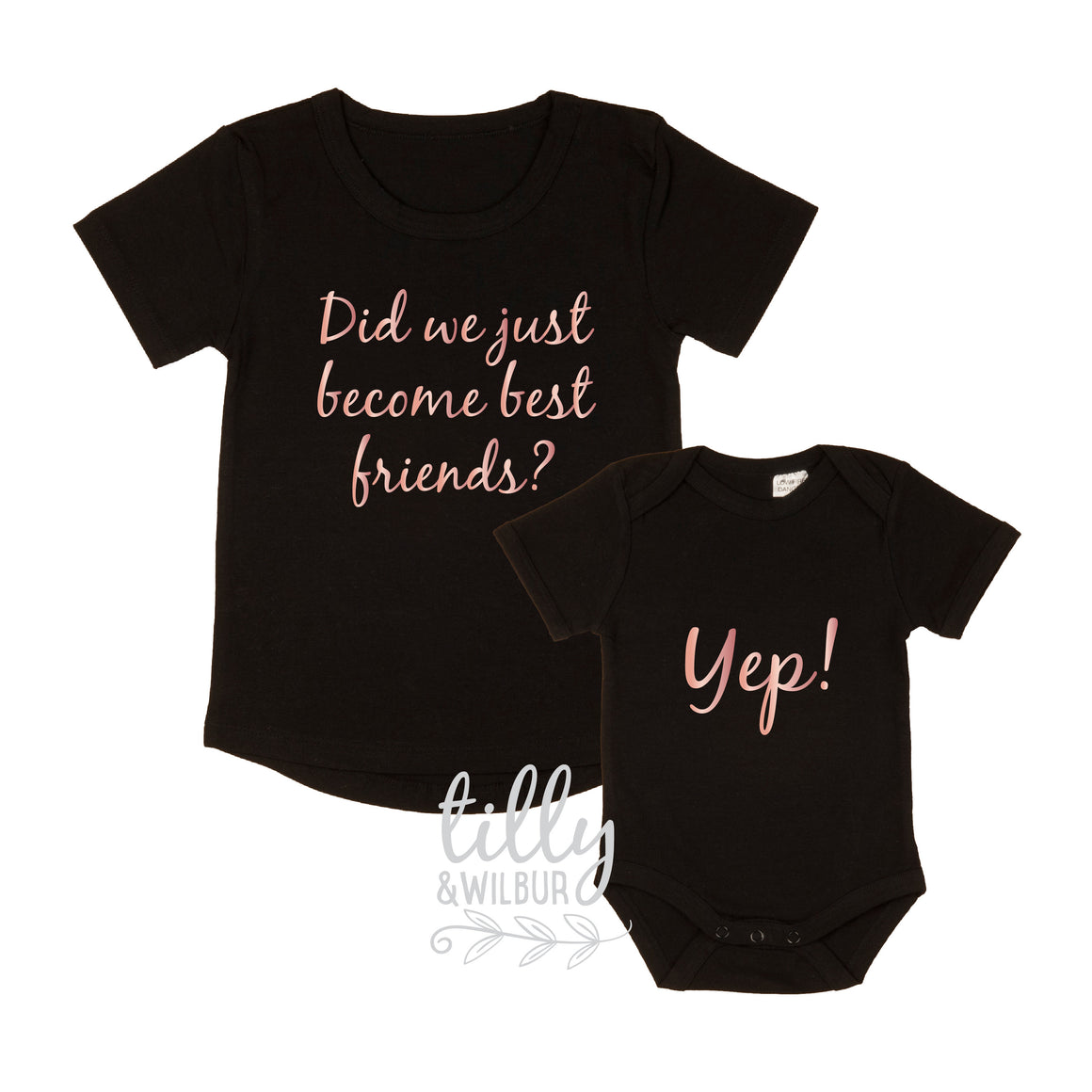 Did We just Become Best Friends? Yep! New Baby Sister Set, Big Sister Little Sister Set, Sibling Set, I'm Going To Be A Big Sister, Big Sis