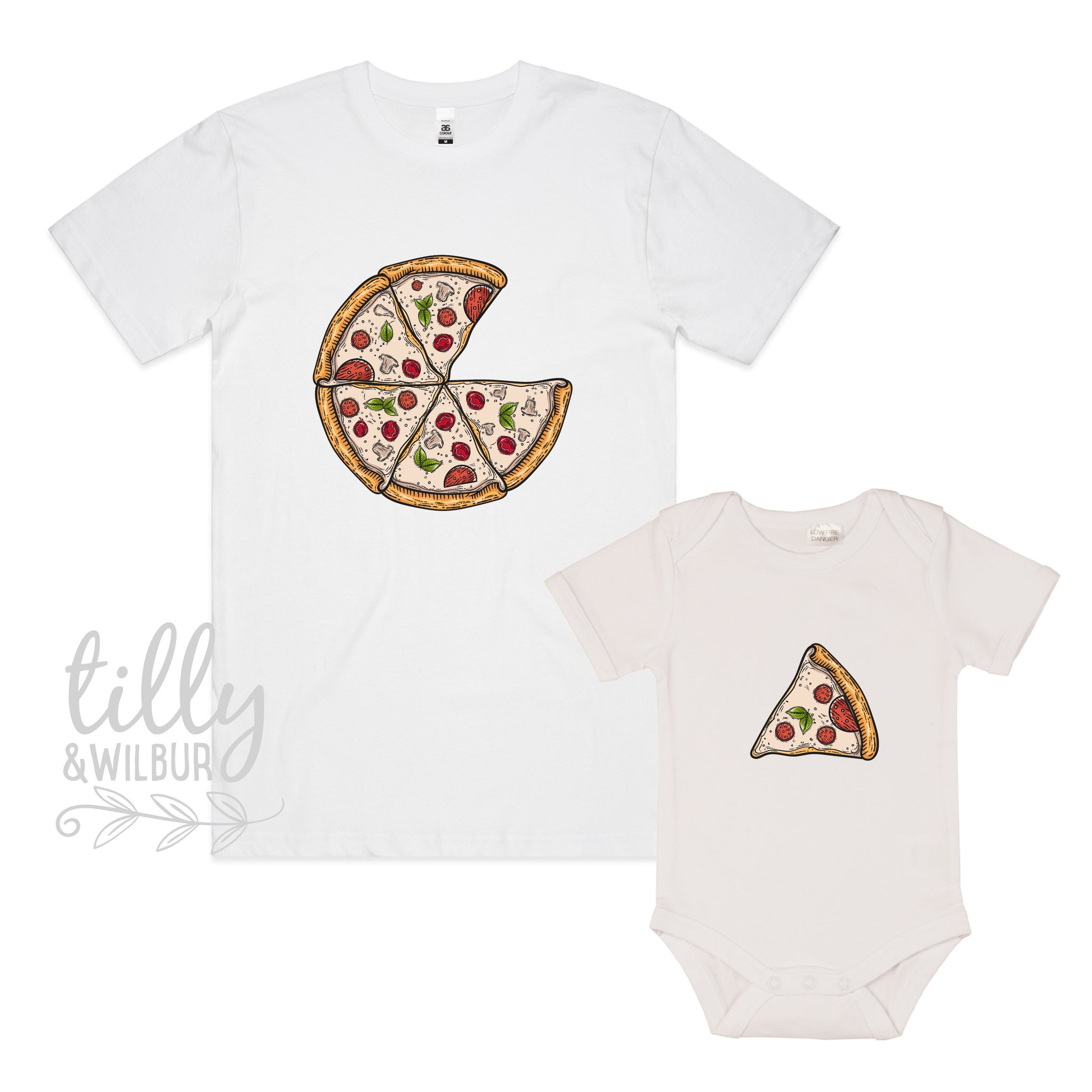 0ce95f87b Father Son Pizza T-Shirt, Daddy Daughter Pizza T-Shirts, Matching Pizza