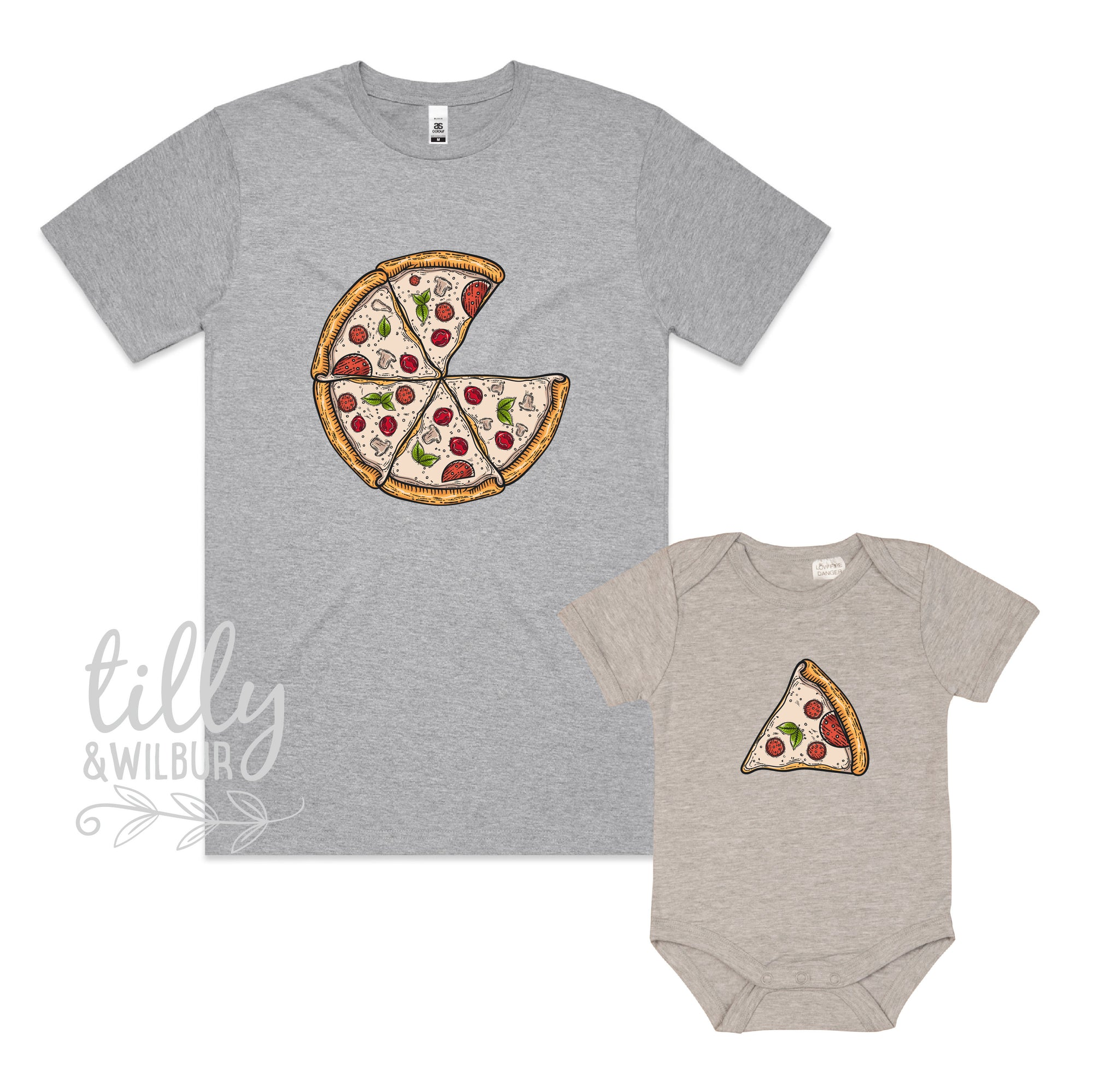 Father Son Pizza T-Shirt, Daddy Daughter Pizza T-Shirts, Matching Pizza Outfits, Matchy Matchy, Whole Pizza One Slice Matching, Pizza Set