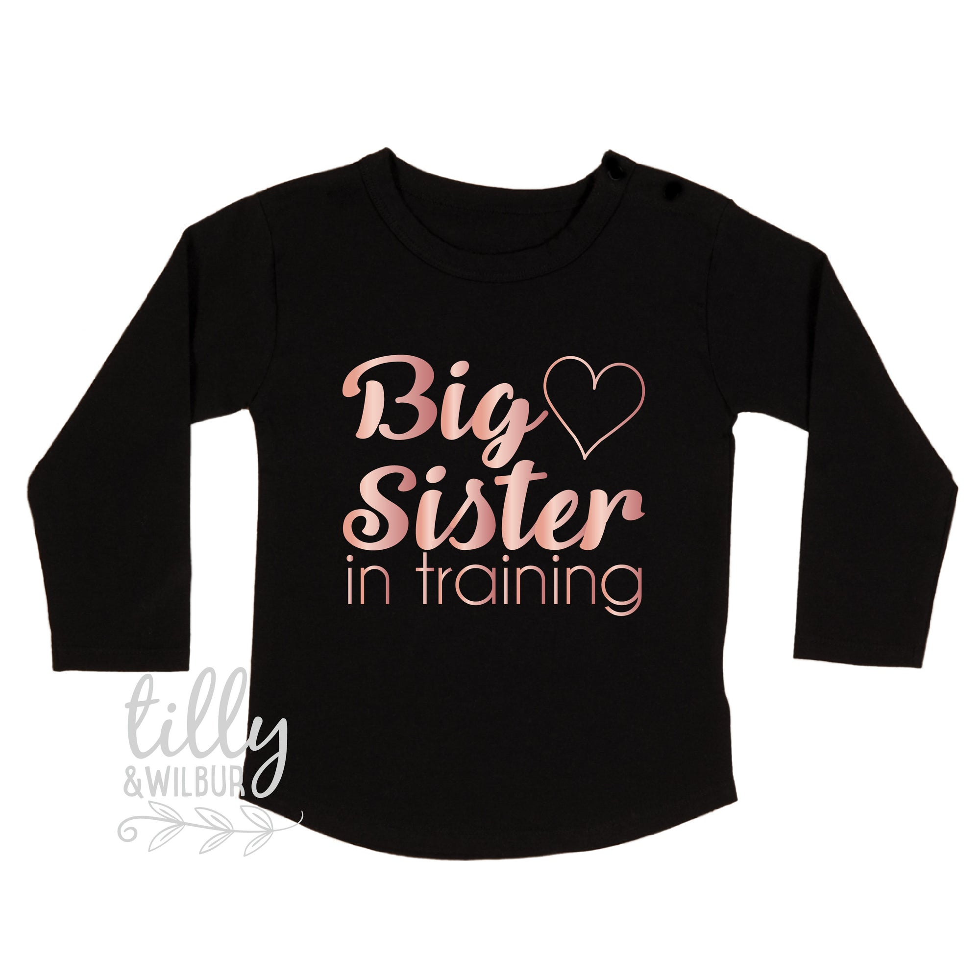 Big Sister In Training Girls T-Shirt, Pregnancy Announcement T-shirt, Promoted To Big Sister, Sister Shirt, Big Sister Shirt, Announcement