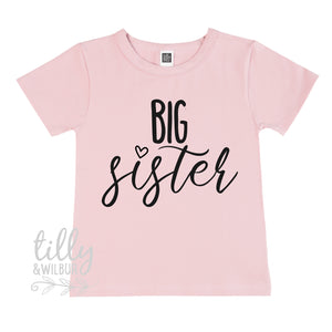 Big Sister T-Shirt, Pregnancy Announcement T-shirt, Promoted To Big Sister, Sister Shirt, Big Sister Shirt, Big Sister In Training T-Shirt
