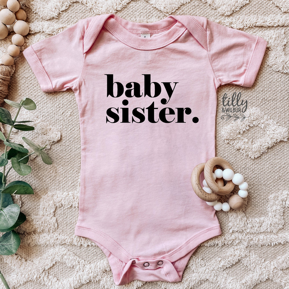 baby sister. bodysuit, Sister Announcement, Baby Sister Gift, Pregnancy Announcement, I'm Getting A Little Sister Shirt, Baby Sister Reveal