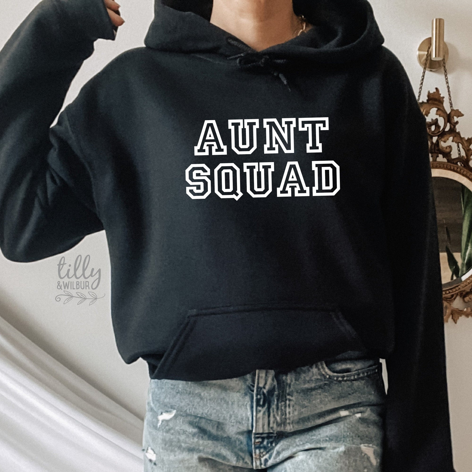 Aunty T-Shirt, Aunt Squad Hoodie, Pregnancy Announcement Jumper, I'm Going To Be An Aunty, Baby Shower, Aunt-To-Be, Auntie, Niece Nephew