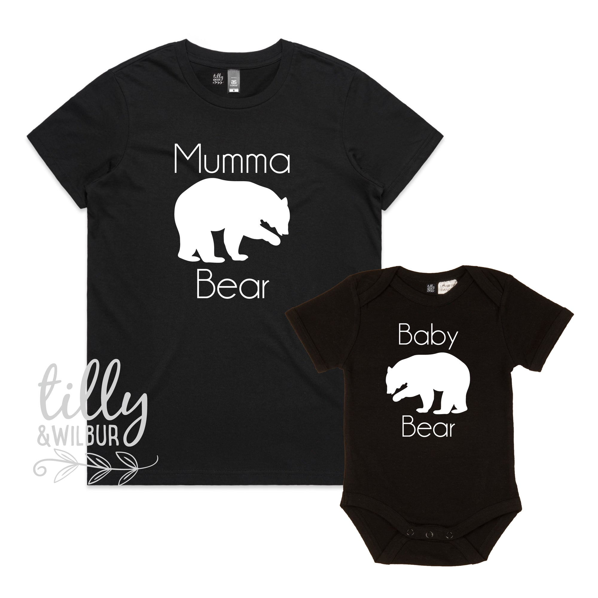 Mumma Bear and Baby Bear Set