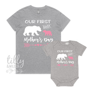 Our First Mother's Day 2021 Mother & Daughter Matching Set