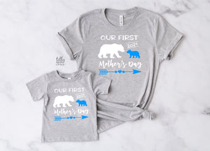 Our First Mother's Day 2021 Mother & Son Matching Set