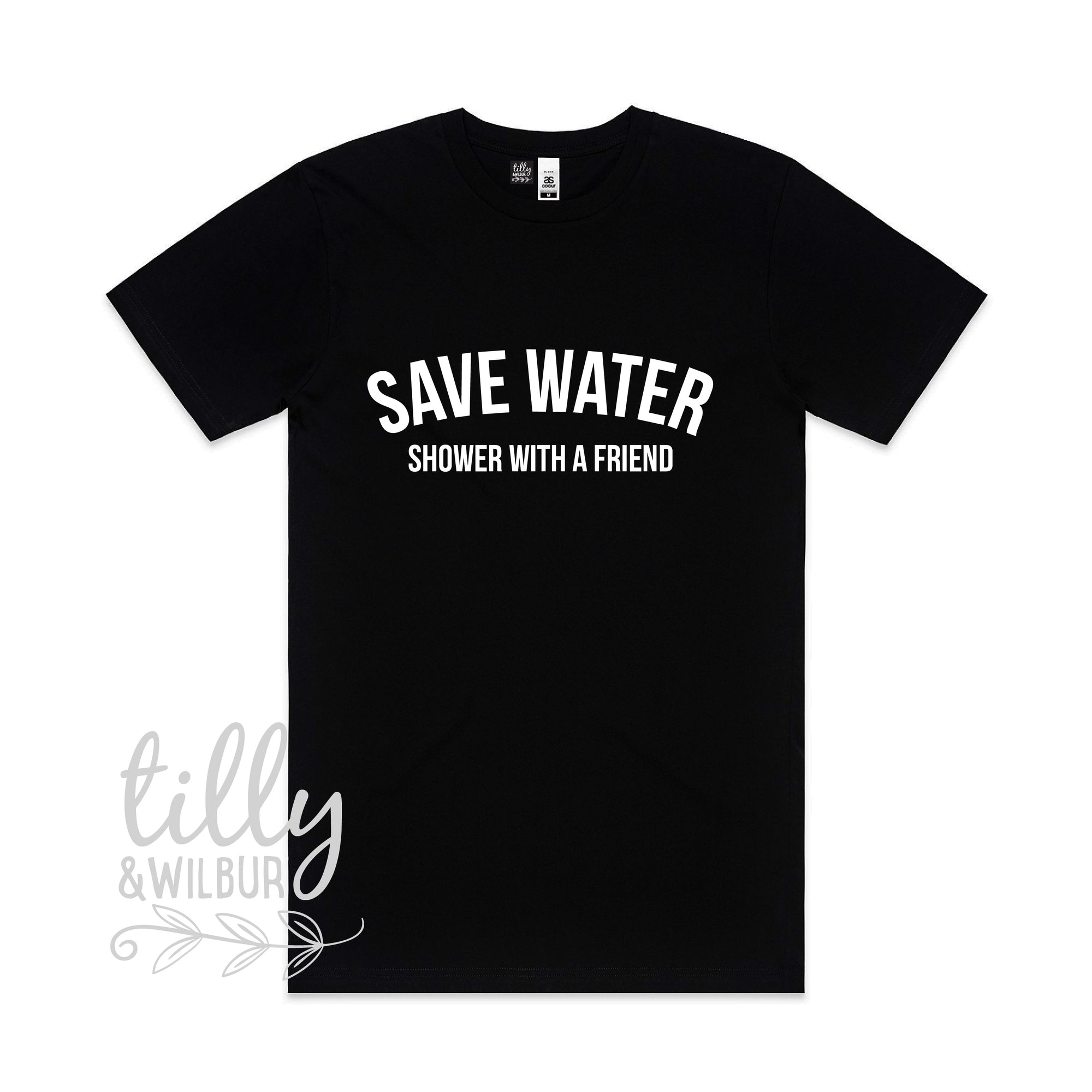 Save Water Shower With A Friend Men's Tee
