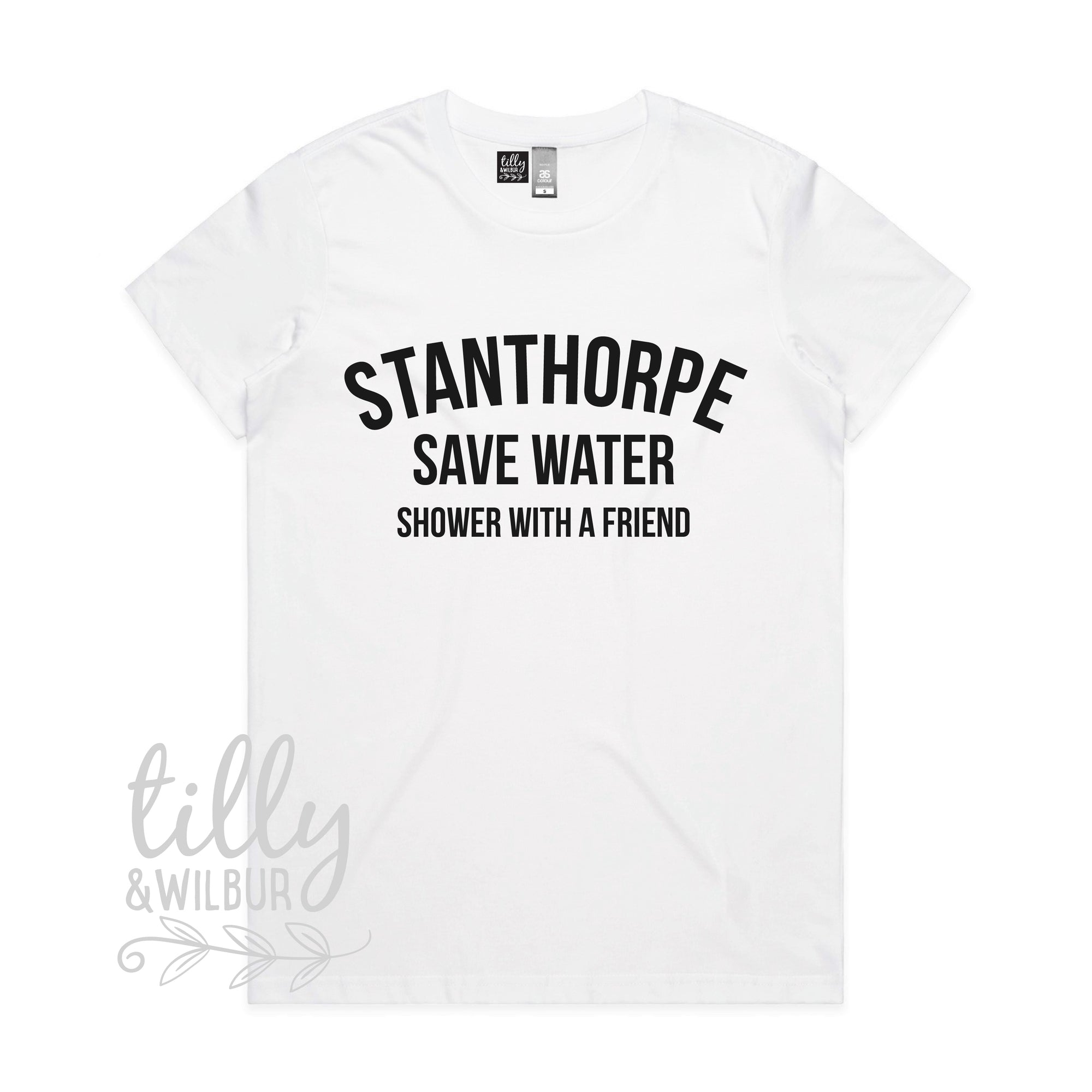 Stanthorpe Save Water Shower With A Friend Women's Tee