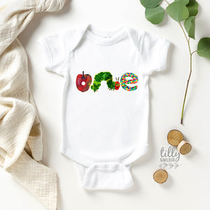 The Very Hungry Caterpillar One Bodysuit