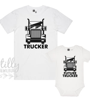 Trucker & Future Trucker Matching Set