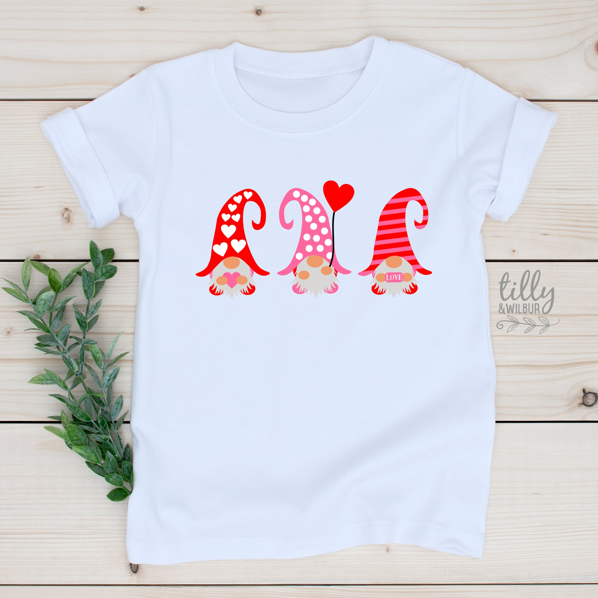 Girls Valentine's Day T-Shirt