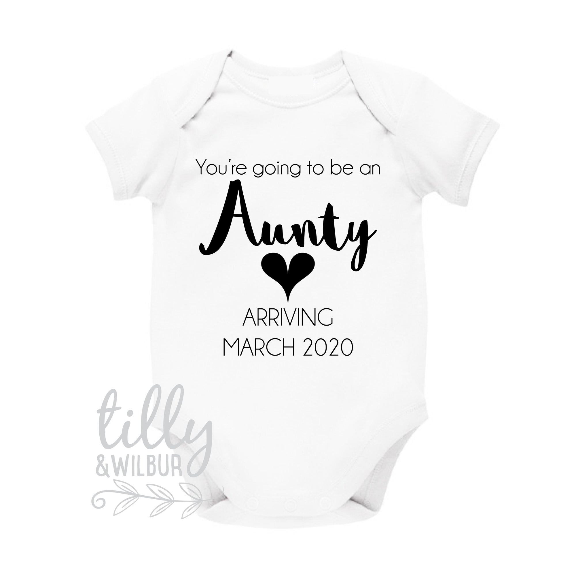 You're Going To Be An Aunty Pregnancy Announcement Bodysuit