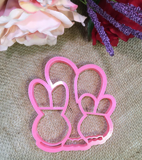 Hoppy Bunny Family (Imprint) Cutter