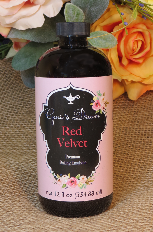 Genie's Dream Red Velvet Emulsion (12oz)
