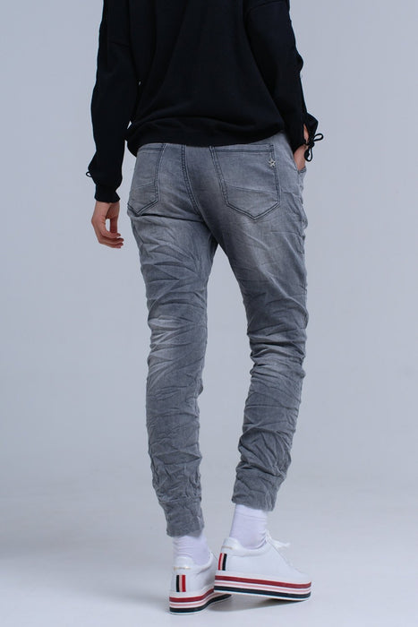 Jogger Gray Jeans