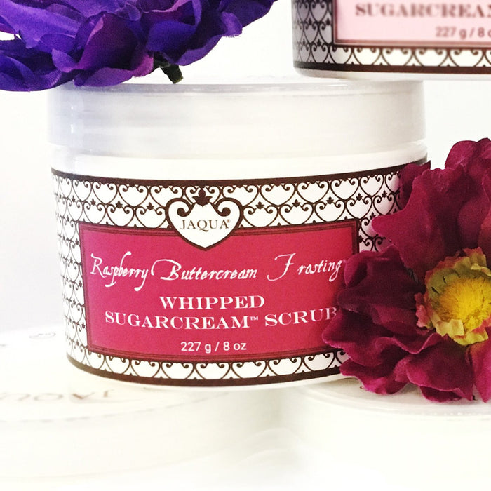 Raspberry Buttercream Frosting Whipped SugarCream Scrub