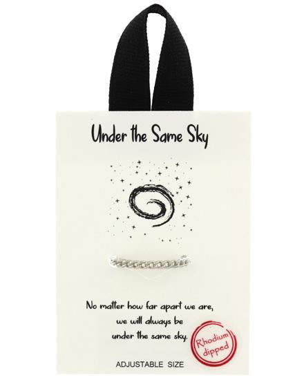 Under the Same Sky Adjustable Ring