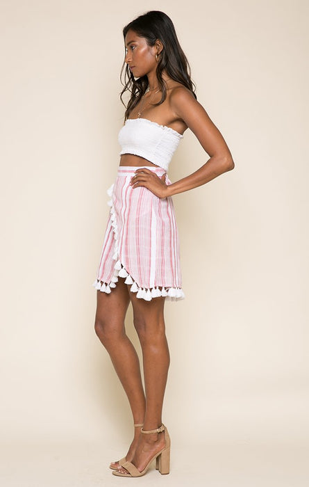 Candy Stripes Short Skirt