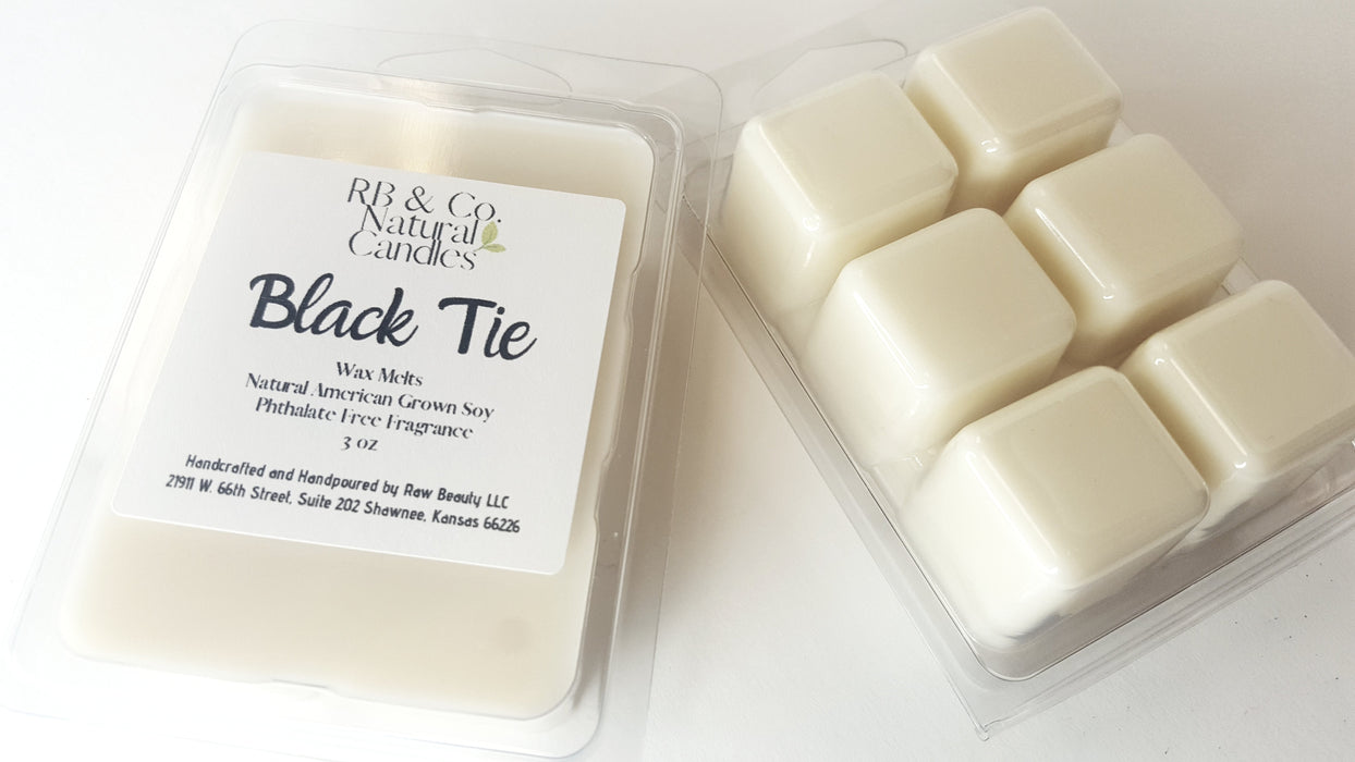 Black Tie | Natural Soy Candle | Hand-Poured and Hand-Crafted