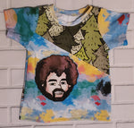 Bob Ross Cotton Lycra Shirt. Size 6 months.