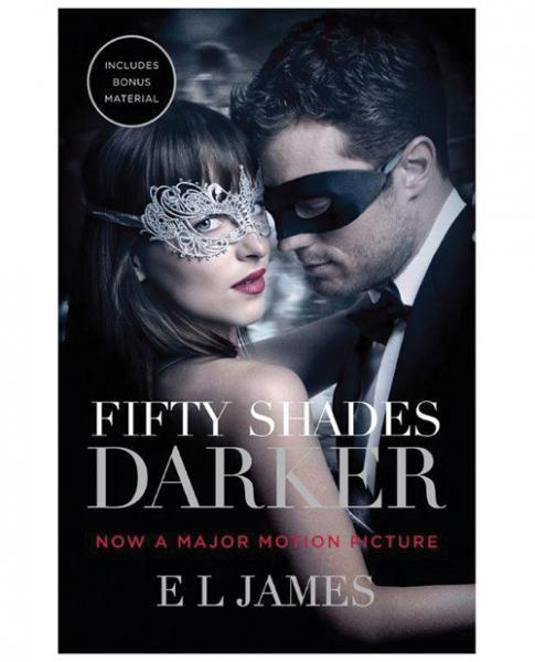 Fifty Shades Darker Movie Cover Book by E.L. James