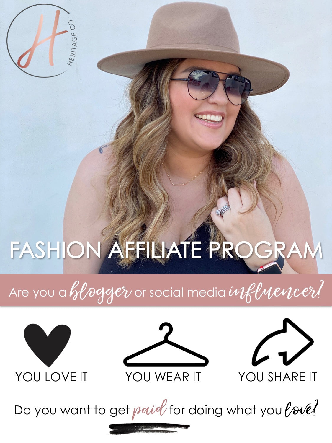 Heritage Co. Fashion Affiliate Program