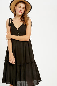 Wish Come True Dress / Black