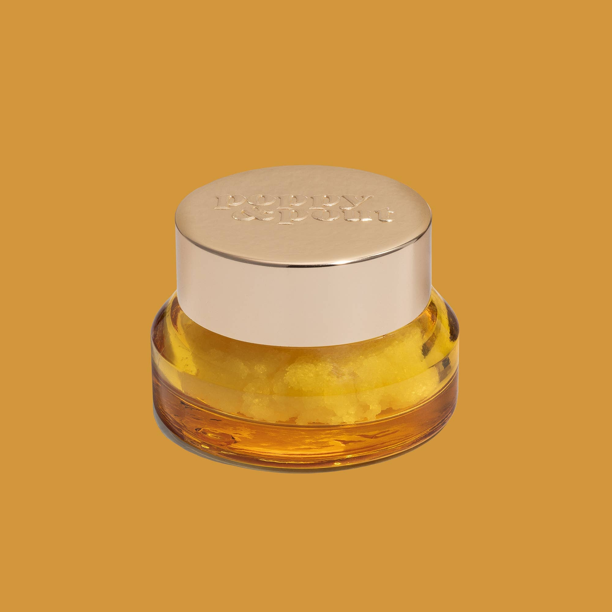 Poppy & Pout Lip Scrub / Wild Honey
