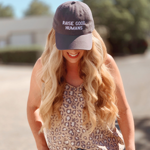 Raise Good Humans Baseball Cap