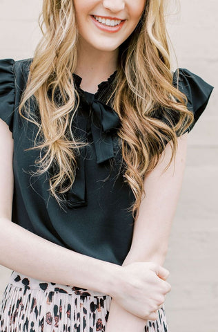 Daphne Blouse / Black
