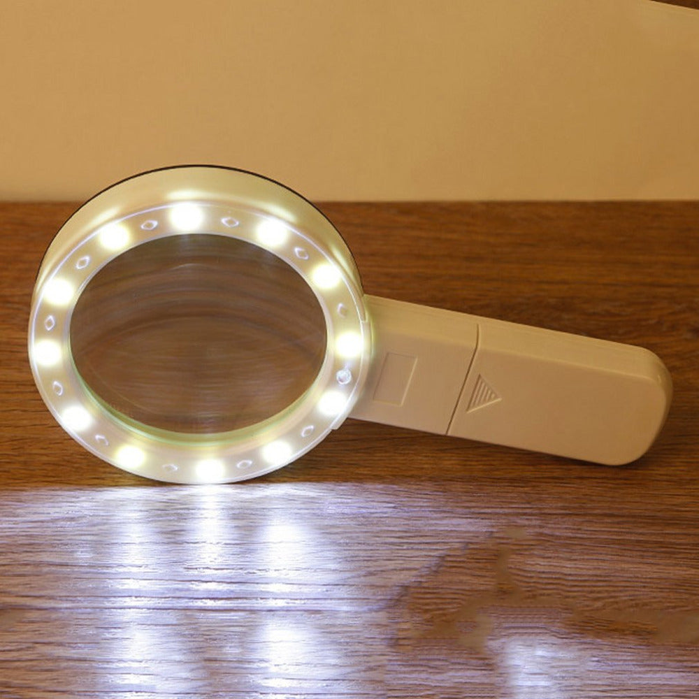 Magnifying Glass With LED Lights
