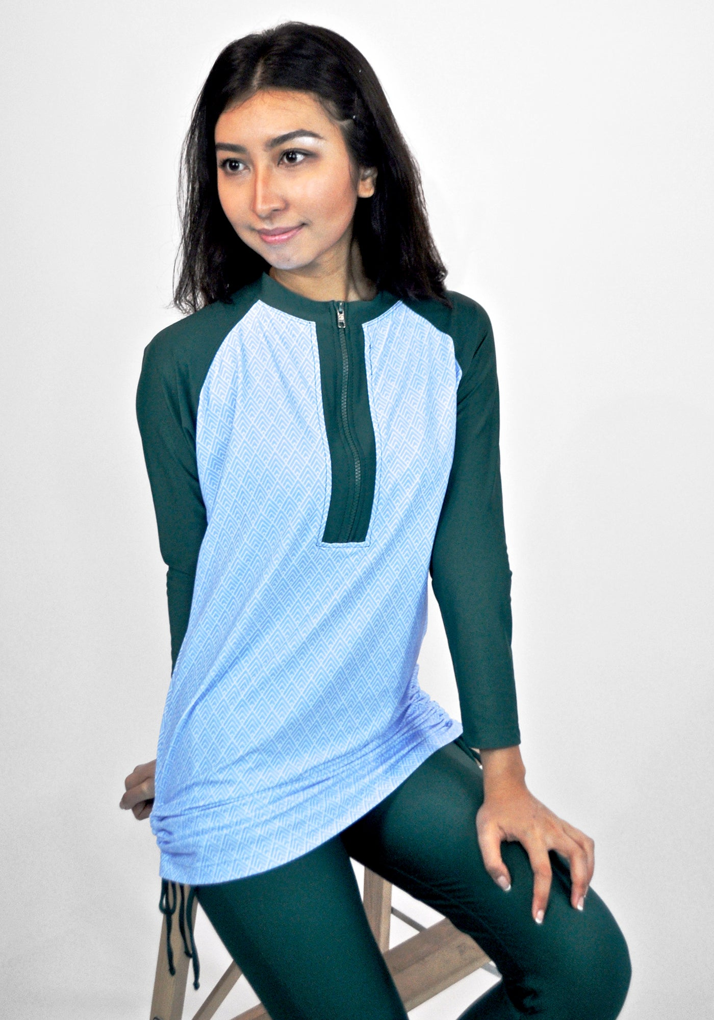 JAMILA in Forest Green