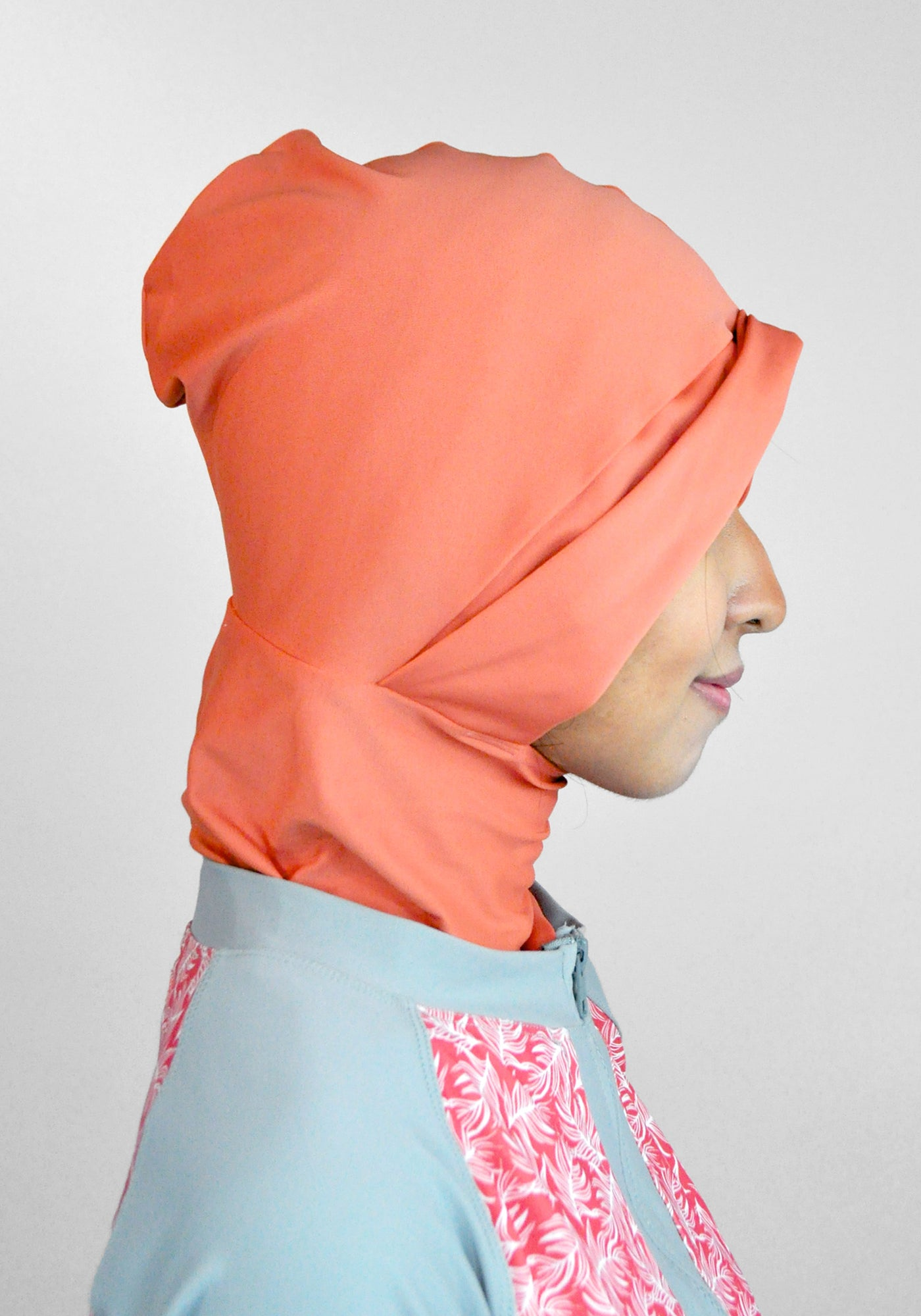 Swim Cap in Burnt Sienna