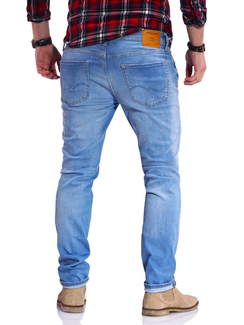 Jack & Jones Herren Jeans GLENN ARIS Slim Fit Stretch Denim