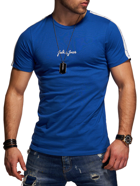 Jack & Jones Herren T-Shirt O-Neck Print Shirt