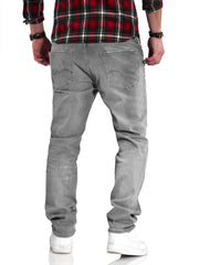 Jack & Jones Herren Jeans CLARK ARIS Regular Fit Straight Leg Denim Herrenhose