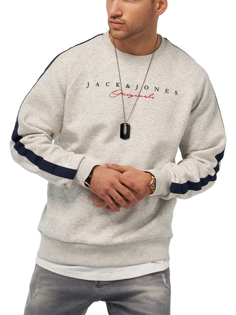 Jack & Jones Herren Sweatshirt O-Neck Pullover