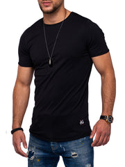 Jack & Jones Herren O-Neck T-Shirt INFINITY Longshirt