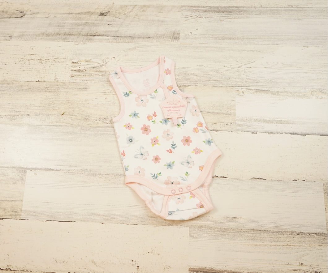 Flower Tank Top Onesie