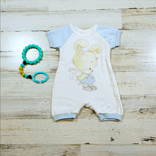 Load image into Gallery viewer, Short Sleeve Rabbit Boys Romper