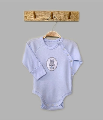 Bunny Blue Bodysuit With Side Snaps