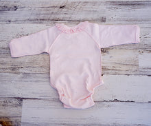 Load image into Gallery viewer, Pink Bunny Long Sleeve Bodysuit