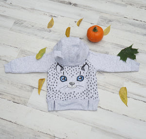 Little Kitten Boy Thermal Hoodie