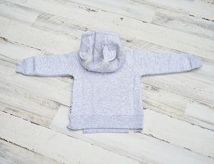 Little Kitten Girl Thermal Hoodie