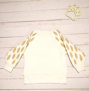 Little Owl Girls Thermal Pullover Hoodie