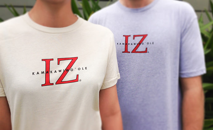 IZ LOGO T-SHIRT-GRAY