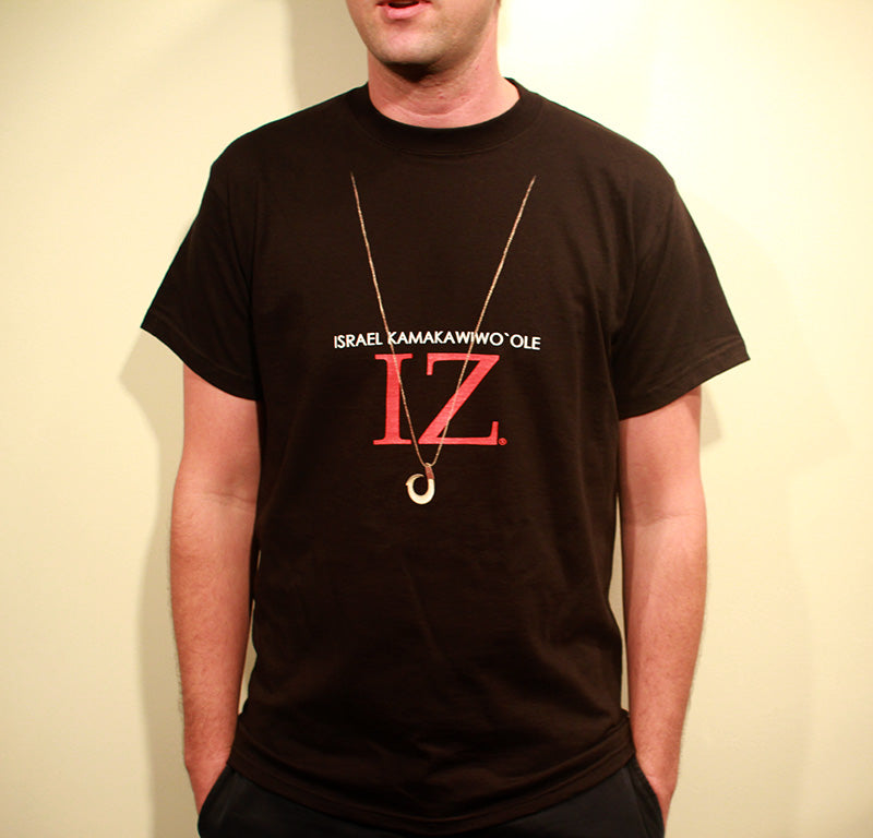 IZ HOOK T-SHIRT - BLACK