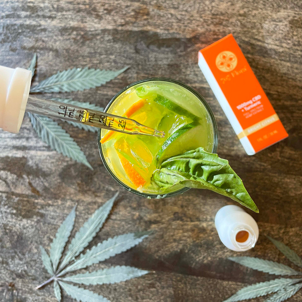 The Most Refreshing CBD Cocktail Recipe