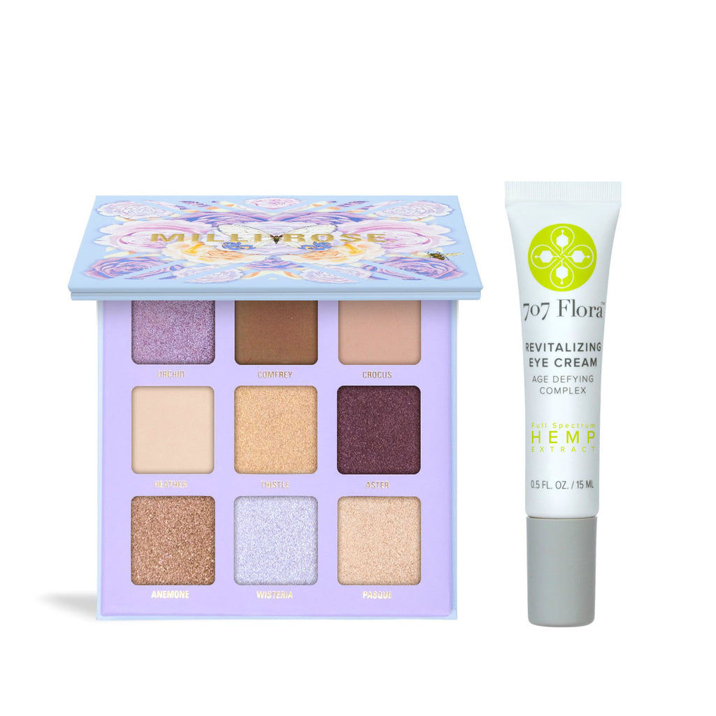 707 Flora x Milli Rose Botanical Eye Set