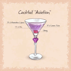 3 Classic Aviation Cocktail Recipes and Ingredients